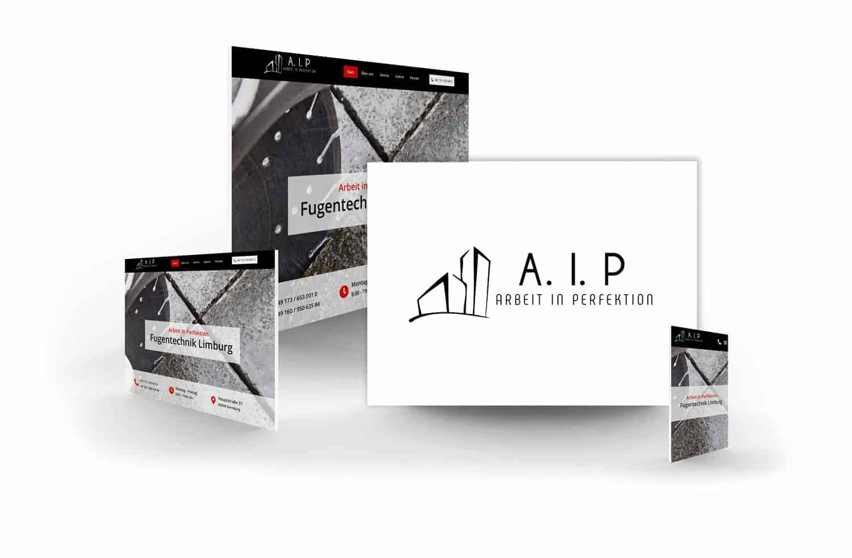 crocovision Webdesign Referenz A.I.P. - Fugentechnik Limburg
