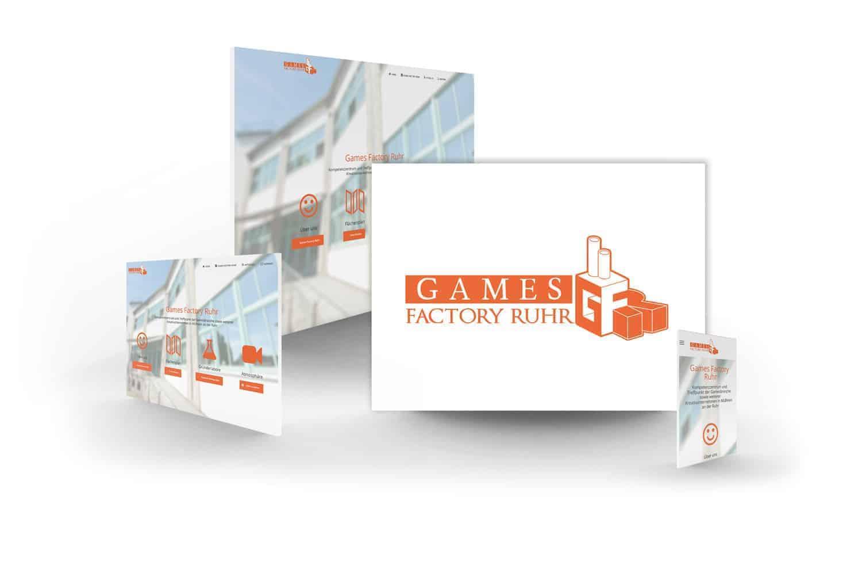 crocovision Webdesign Referenz Gamesfactory Ruhr