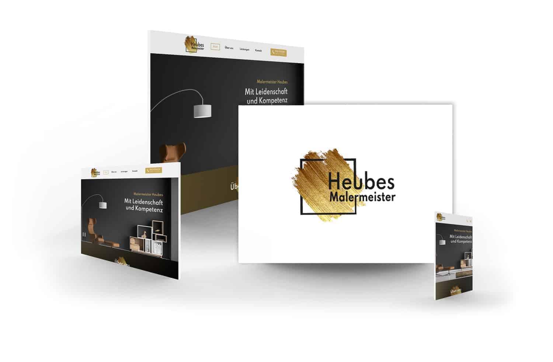 crocovision Webdesign Referenz Malermeister Heubes